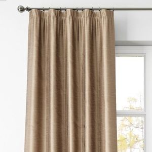 Pottery Barn Accents - Pottery Barn Dupioni Silk Rod Pocket Curtain